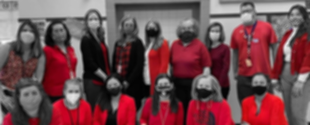 HCT Wears Red for UNITY